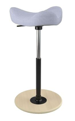 """Varier MOVE 2600 UMAMI 26"""" - 34"""" Sit-Stand Chair with Umami Upholstery,"""
