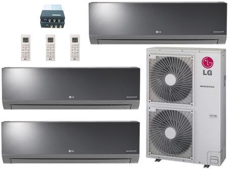 LG 705532 Triple-Zone Mini Split Air Conditioners