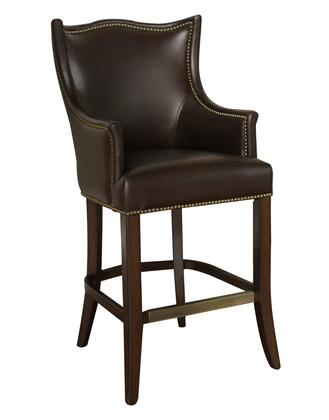 American Heritage 130887SR Montoya Series Residential Leather Upholstered Bar Stool