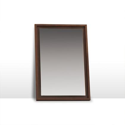 Argo Furniture CPMR12V36EX Bella Series Rectangle Both Wall Mirror