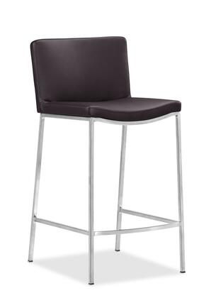 Zuo 300096 Curve Series Residential Bar Stool