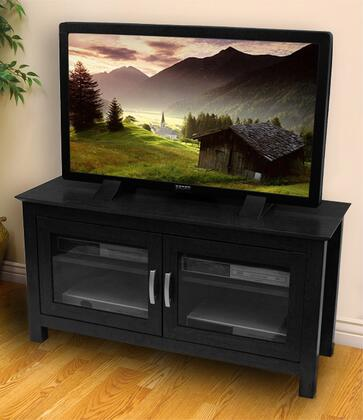 Walker Edison W44CFD 44 Inch Columbus Wood TV Stand