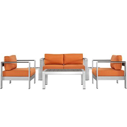 Modway EEI2568SLVORA Modern Patio Sets