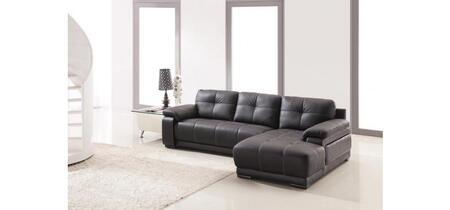 VIG Furniture 2972S  Sofa and Chaise Bonded Leather Sofa