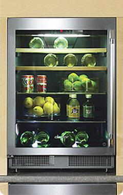 """Dacor EF24LBCSS 23.63"""" Built-In Wine Cooler, in Stainless Steel"""