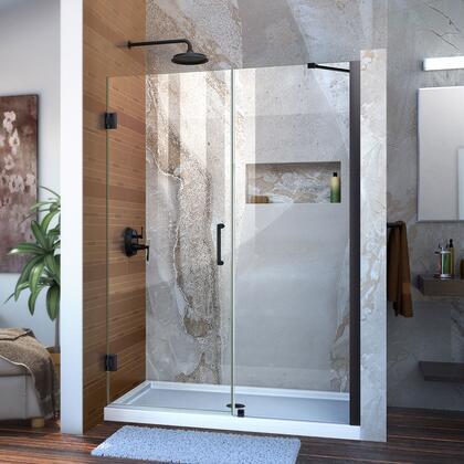 Unidoor Shower Door with Base 12 28D 24P support arm 09 72 WM 11 16