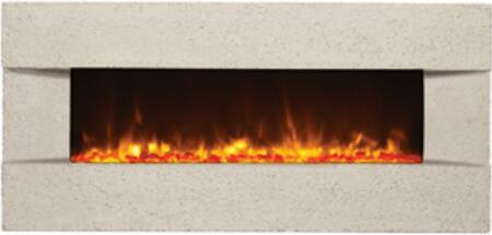 Amantii BLTIN5124CLASSICOTUSCANCREAM Wall Mountable Electric Fireplace