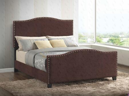 Glory Furniture G2572KBUP G2570 Series  King Size Panel Bed