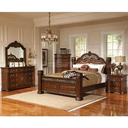 Coaster 201821Q DuBarry Series  Queen Size Panel Bed