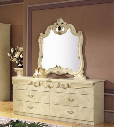 VIG Furniture VGCABOROCCOIVODDR Barocco Series Wood Dresser