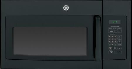 GE JNM6171DFBB 1.7 cu. ft. Over the Range Microwave Oven with 1000 Cooking Watts, in Black