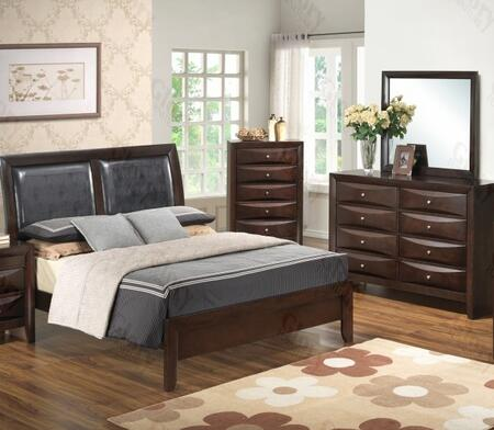 Glory Furniture G1525AKBDM G1525 King Bedroom Sets