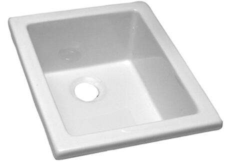 "18.125"" x 14.375"" Utility Sink with Fine Fire Clay in White (Regular View)"