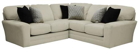 """Jackson Furniture Everest Collection 4377-46-72- 104"""" 2-Piece Sectional with Left Arm Facing Loveseat and Right Arm Facing Section with Corner in"""