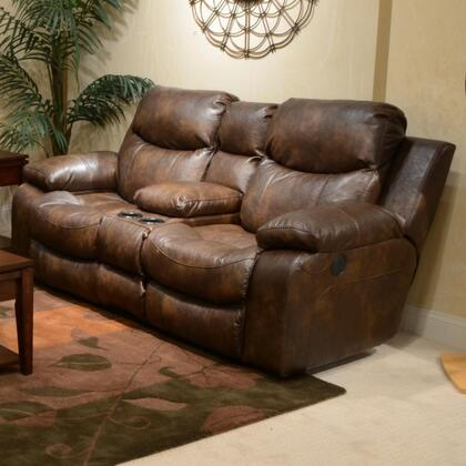 Catnapper 4319122319302319 Catalina Series Bonded Leather Reclining with Metal Frame Loveseat