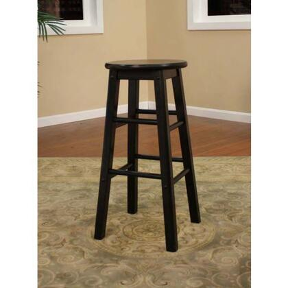 American Heritage 124803BLK Classic Series Residential Not Upholstered Bar Stool
