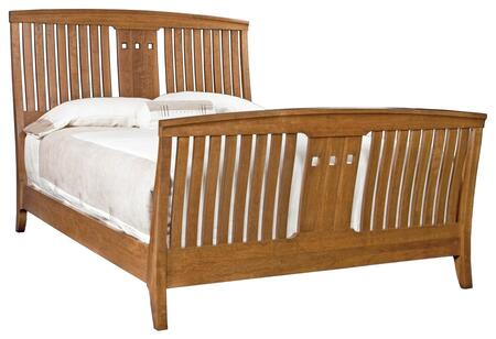 Durham 100127BC Westwood Series  Queen Size Sleigh Bed