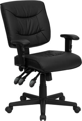 "Flash Furniture GO1574BKAGG 25"" Contemporary Office Chair"