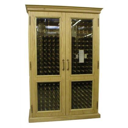 "Vinotemp VINO700ENGLISHFW 59"" Wine Cooler"