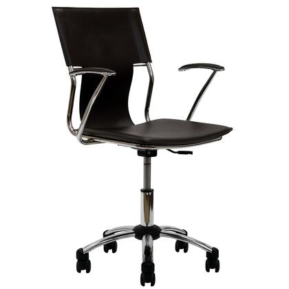 "Modway EEI198BRN 22"" Adjustable Contemporary Office Chair"