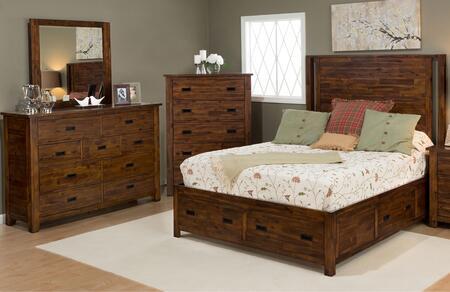 Jofran 1503QPBDM Coolidge Corner Queen Bedroom Sets