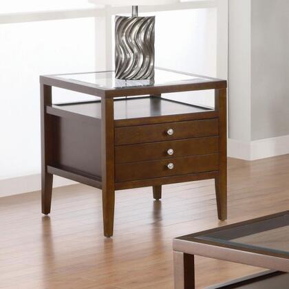 Coaster 701347 La Vista Series Contemporary Wood  End Table