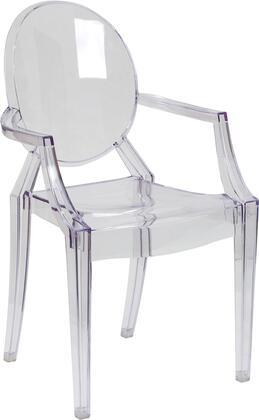 Flash Furniture FH 124 APC CLR GG