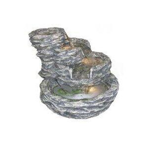 Alpine GIL108 Four Level Rock Pond Fountain