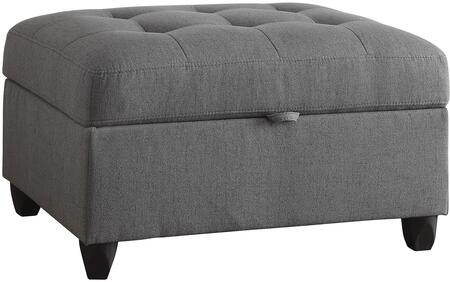 Coaster 500414 Stonenesse Series Contemporary Fabric Wood Frame Ottoman