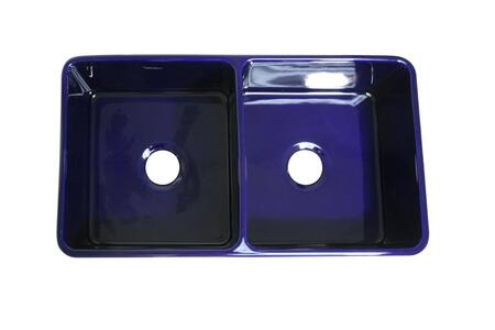 Whitehaus WH3719BLUE Sapphire Blue Kitchen Sink | Appliances Connection