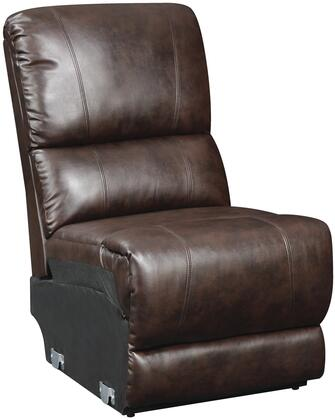 Glory Furniture G975SCAC Bonded Leather  in Chocolate