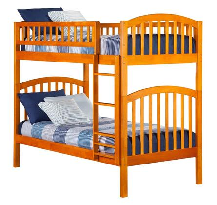 Atlantic Furniture AB64107  Twin Size Bunk Bed