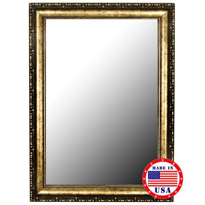 Hitchcock Butterfield 33280X Tibetan Silver-Aged Gold Framed Wall Mirror
