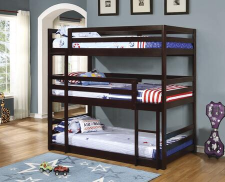 Coaster 400302 Bunks Series  Twin Size Bunk Bed