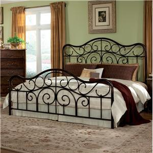 Standard Furniture 56226A Santa Cruz Series  King Size Panel Bed