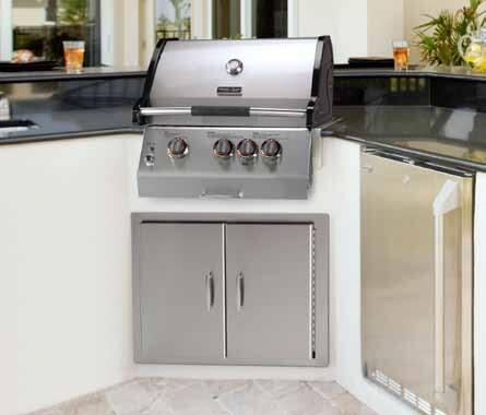 Vermont Castings VCS322SSBIN Built In Natural Gas Grill