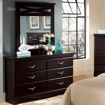 Standard Furniture 54659A Crossroads Series Wood Dresser