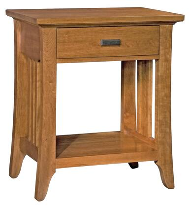 Durham 100201A Westwood Series Rectangular Wood Night Stand
