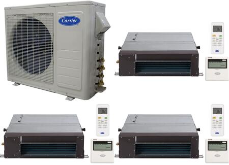 Carrier 701082 Performance Triple-Zone Mini Split Air Condit
