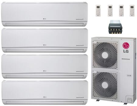LG 704720 Quad-Zone Mini Split Air Conditioners