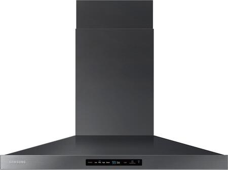 "Samsung NK36K7000W 36"" Wall Mounted Range Hood with 600 CFM, LED Lighting, Baffle Filters and Hood Connectivity Wifi, in"