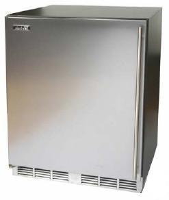Perlick HC24RB1LDontUse Commercial Series Built In Counter Depth Compact Refrigerator with 4.9 cu. ft. Capacity, 2 Wire ShelvesField Reversible Doors