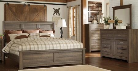 Milo Italia BR371QPBDM Reeves Queen Bedroom Sets