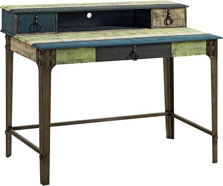 Powell 114238 Calypso Series Writing  Wood Desk