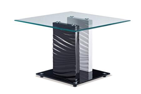 Global Furniture USA T1021E Modern Square End Table