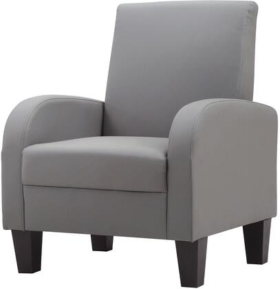 Glory Furniture G107C Newbury Series Armchair Faux Leather Accent Chair