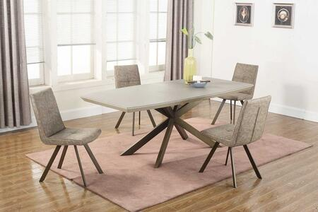 Chintaly PRIMROSE5PC Primrose Dining Room Sets