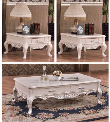 Meridian 2963PCRC2SEKIT1 Arturo Living Room Table Sets