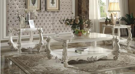 Acme Furniture 821233PC Versailles Living Room Table Sets