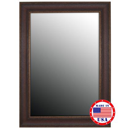 Hitchcock Butterfield 80630X 2nd Look Copper Embossed Bronze Framed Wall Mirror
